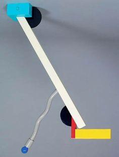 1981 Quisisiana Ceiling Lamp by Ettore Sottsass. Named for the five star resort hotel on Capri. Memphis Milano, Memphis Art, Ceiling Lamp, Ceiling Lights, Nathalie Du Pasquier, Memphis Design, Design Movements, Crazy Colour, Machine Design