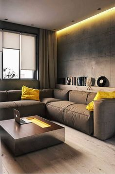 Living Room Decorating Ideas- – Home Office Design On A Budget Design Loft, Loft Interior Design, Home Office Design, Home Interior, House Design, Modern Interior, Interior Designing, Living Room Designs, Living Room Decor