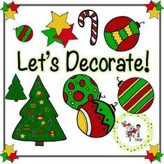 FREE! TLC Clip Art - Let's Decorate! | by The TLC Shop