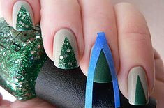 You don't have to pay to have great looking holiday nails. Cute ideas and step-by-step instructions!