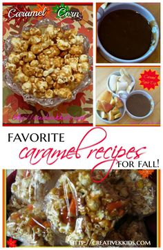 Link up your food posts to get them pinned to the Tasty Tuesdays Pinterest board. Today I shared a few of my favorite caramel recipes for fall!
