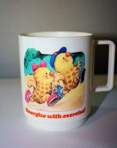 Vintage 80's AVON Somersault mug by TemptMeVintage on Etsy, $5.00