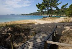 Playa de Barra, en Cangas de Morrazo (Pontevedra).