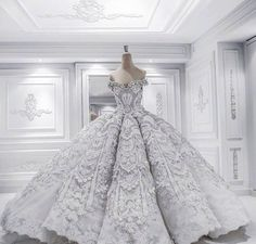 Couture wedding gown by Jacy Kay