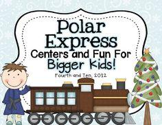 Polar Express Fun for Bigger Kids