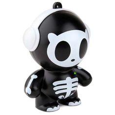 Mobi Beatz Buddiez Character Mini Speaker - Skully  #ipod #ipad #smartphone #android #iphone #galaxys4 #sound #gaming #notebook #laptop