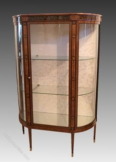 Display Cabinet In Fine Woods. England 19th.C. - Antiques Atlas Antique Display Cabinets, Looking To Buy, Rest Of The World, Get Directions, Antique Furniture, Craftsman, 19th Century, Restoration, Two By Two
