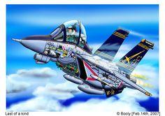 Voici venir une machine tellement mythique qu'il n'est plus besoin de la présenter! Tous ceux qui ont vu Top Gun la connaissent, c'est le chasseur le plus emblématique de sa génération: le F-14 Tomcat C'était un sujet qui me tenait à coeur depuis très...