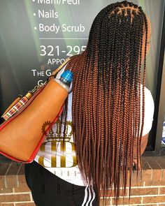 2020 Recommended Color Box Braid Styles In 2020 Box Braids Hairstyles Hair Styles Box Braids Styling