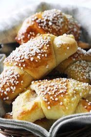 Lantlollabloggen: Äppelgifflar med mandelmassa