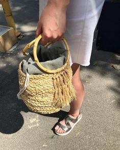 Straw Bag, Instagram Posts, Bags, Purses, Taschen, Totes, Hand Bags, Bag, Handbags