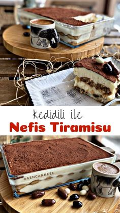 Yummy Tiramisu with Cat Tongue - Delicious Recipes Delicious Cake Recipes, Homemade Cake Recipes, Yummy Cakes, Yummy Food, Cake Fillings, Cake Flavors, Party Fotos, Cake Quotes, Tiramisu Recipe