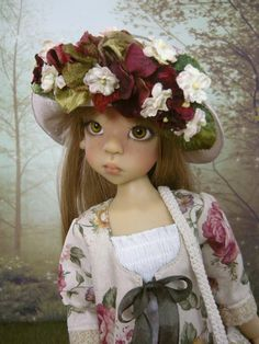 Spring outfit for Kaye Wiggs MSD doll Layla Miki Larissa Nyssa