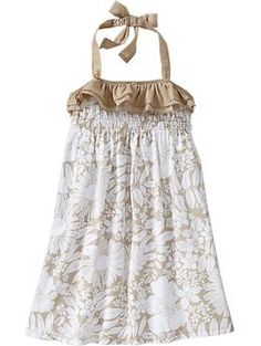 Toddler girl floral ruffle maxi dress from Old Navy.  I want to get this for Ella.