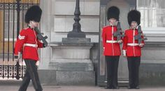 Changing of the guards- England