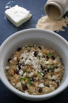 cooking with quinoa--cute article and step-by-step recipe.  Been wanting to try quinoa for a while & I haven't gotten around to it
