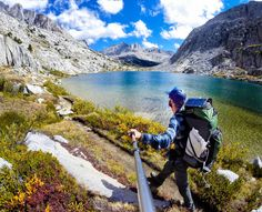 """Backpacking the John Muir Trail. Day 12, mile 143, so far from reality."""""""