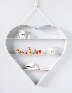 Bride&Wolfe Heart Shelf via thedesignfiles