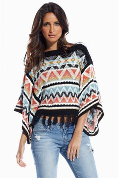 Getting ready for Fall in this amazing sweater.  $46