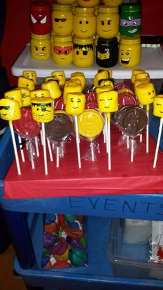 Lego Land theme! great idea for my babys first bday.