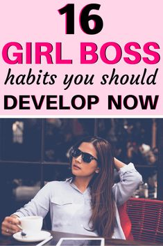 16 Boss Babe Habits to Develop Now! Are you a boss babe? Here are 16 habits every boss babe should develop! Up Girl, Girl Boss, You Go Girl, Lady Girl, Self Development, Personal Development, Leadership Development, Vie Motivation, Boss Babe Motivation
