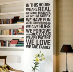 Wall Qoute Decal