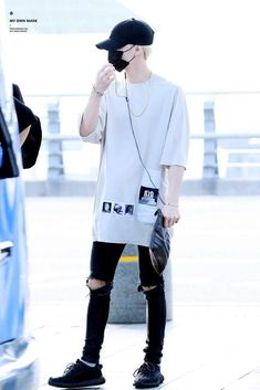 My Internet Crush (Jimin x M!Reader) Chapter 8 The Plan is part of Fashion - Read Chapter 8 The Plan from the story My Internet Crush (Jimin x M! Korean Airport Fashion, Korean Fashion Kpop, Korean Fashion Trends, Asian Fashion, Curvy Fashion, Fashion Bloggers, Kpop Outfits, Korean Outfits, Casual Outfits