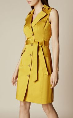 Discover women's clothing for work, weekend or special occasions. Shop Karen Millen's new collection of dresses, coats and tailoring for women now. Lace Dress Styles, Nice Dresses, Casual Dresses, Karen Millen, Party Wear Dresses, Dress Outfits, Yellow Dress Summer, Summer Dresses, Skirt Fashion