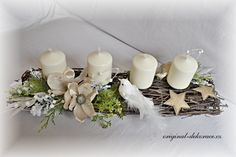 Christmas Decorations, Table Decorations, Christmas Time, Place Card Holders, Wreaths, Floral, Flower Arrangements, Xmas, Advent
