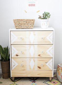 IKEA-rast-hack-paint-and-tape-tribal-6