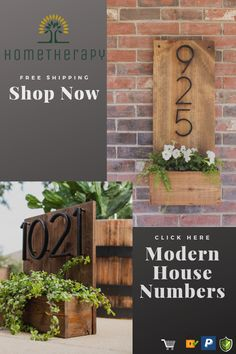 DIY Home Decor presentation to acquire that charming home decorating, room decor idea number 4628947094 House Address Sign, House Address Numbers, Address Signs, Door Numbers, Address Plaque, Wood Home Decor, Diy Home Decor, Room Decor, Curb Appeal
