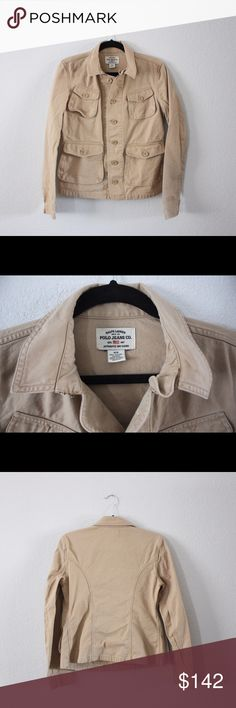 ⭐️INCREDIBLE SALE!⭐️Ralph Lauren Polo Field Jacket This Ralph Lauren Polo canvas utility/field jacket is a must-have for any closet!! It's tan canvas, has four pockets, and is in perfect condition!! Make an offer or bundle to save on this incredibly versatile jacket! ⭐️⭐️⭐️⭐️⭐️ Ralph Lauren Jackets & Coats Utility Jackets