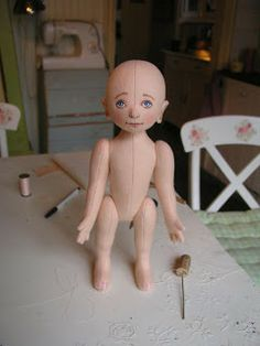 Pip's poppies: doll making part 2