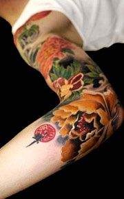 My next tatto will consist of butterflies and peonies. I just havn't decided to go for the pink or red ones.