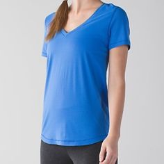 Lululemon What the Sport Tee Size 4 New with tags. lululemon athletica Tops Tees - Short Sleeve