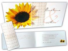 Hochzeitskarte+-+Die+Sonnenblume,+wendet+sich+stets+der+Sonne+zu+III