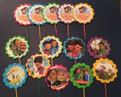 "Cupcake toppers ""Sophia & Caleb""      by Princess J & Mommy"