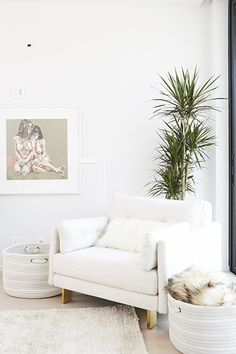 White Hot - Jen Atkin's Home Is A Glam-Minimalist Haven - Photos