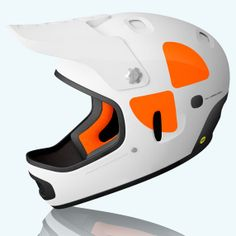 62ab31da5f8b68 POC Cortex DH MIPS Helmet, White, Small-Medium by POC.  349.65.