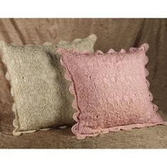 Crochet Shams and Bedskirts