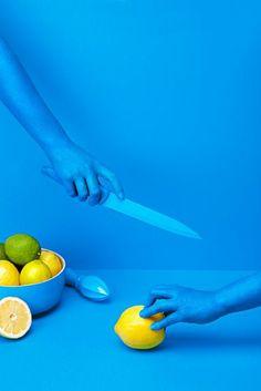 Kessalao - Bonn, Germany - 2014 - Masquespacio #colors #blue