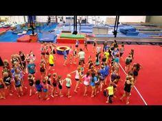Rock, Paper, Scissors Posse - YouTube Gymnastics Games, Gymnastics Coaching, Cheer Games, Gym Games, Shades Of Beige, 50 Shades, Gym Warm Up, Gymnastics Conditioning, Warm Up Games