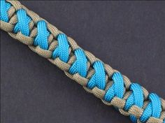 How to Make a Crisscrossed Solomon Bar Bracelet - Paracord Projects Guide