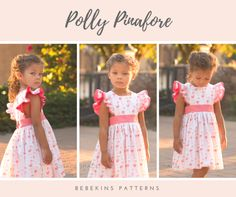 Polly Pinafore - Tester Round up – Bebekins Patterns