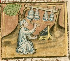 Jansen Enikel, Jans: Weltchronik Bayern-Österreich, 1. Hälfte 15. Jh. Cgm 250 Folio 16