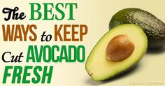 Keep an avocado fresh by storing it with the pit and coating with olive oil or lemon juice prior to storing in an airtight container in the fridge. http://articles.mercola.com/sites/articles/archive/2015/05/18/keeping-avocados-fresh.aspx