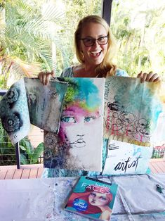 Jane Davenport fabulous artist and teacher . Lose of Fat Every 72 Hours! Learn the Fast Weight Loss Mixed Media Faces, Mixed Media Artists, Jane Davenport Watercolors, Tableaux D'inspiration, Art Journal Pages, Art Journals, Face Art, Art Faces, Home And Deco
