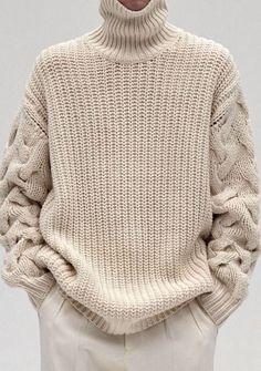 Look! Объемные вязаные свитера! 8