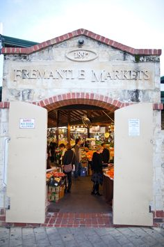 Stock up on deliciously fresh local produce at the Fremantle Markets. Discover the perfect gourmet getaway and head to Perth, Western Australia #Perth #WA #travel