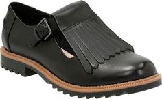 Clarks Womens Griffin Mia Kiltie LoaferBlack LeatherSyntheticUS 8 M *** Startling review available here